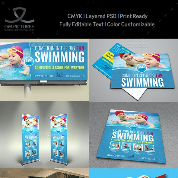 Swimming Advertising Bundle
