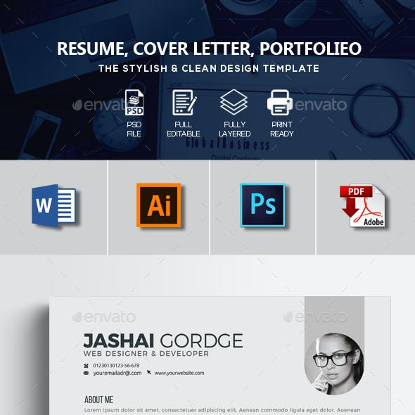Job Resume CV Word Format