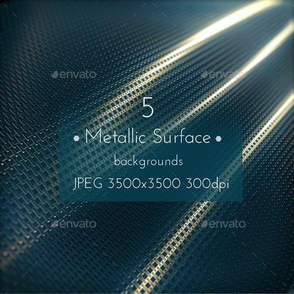 Metallic Surface Background