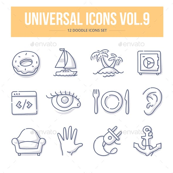 Universal Doodle Icons vol.9