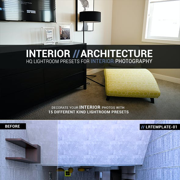 Interior Architecture Lightroom Presets