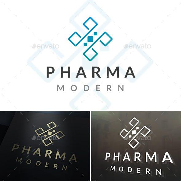 Pharma Cross Logo