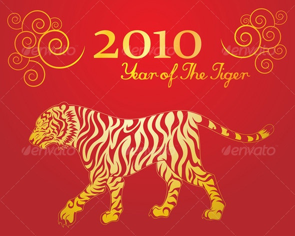 Year of The Tiger 2 - Animals Characters