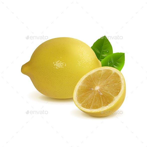 Whole Lemon and Half a Lemon