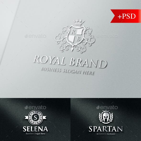 Luxurious Elegant Vintage Boutique Logo Badges