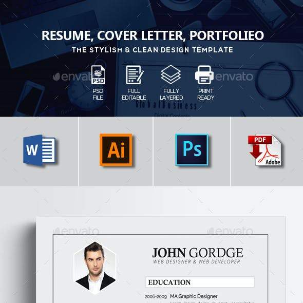 Word CV Resume 3 Pages