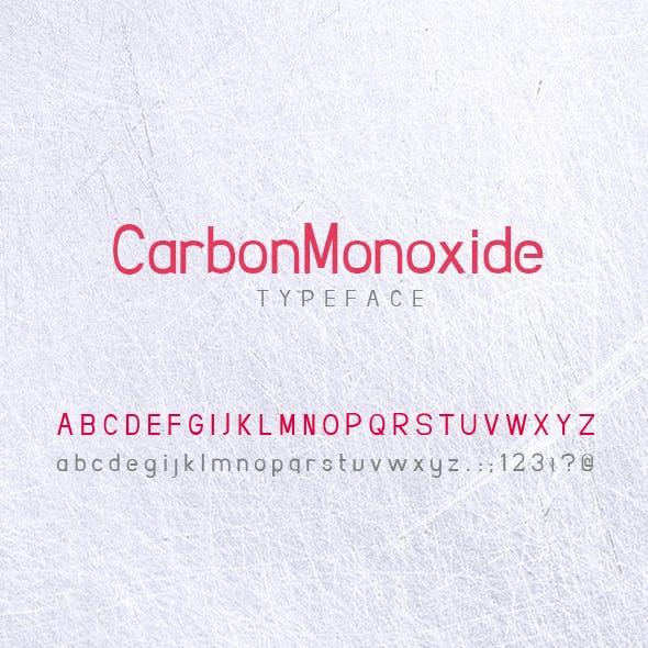 CarbonMonoxide REGULAR FONT