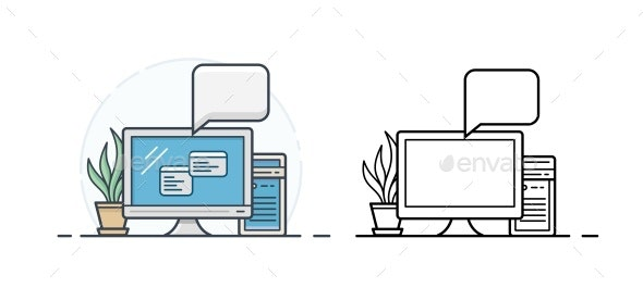 Office Computer Icons - Computers Technology