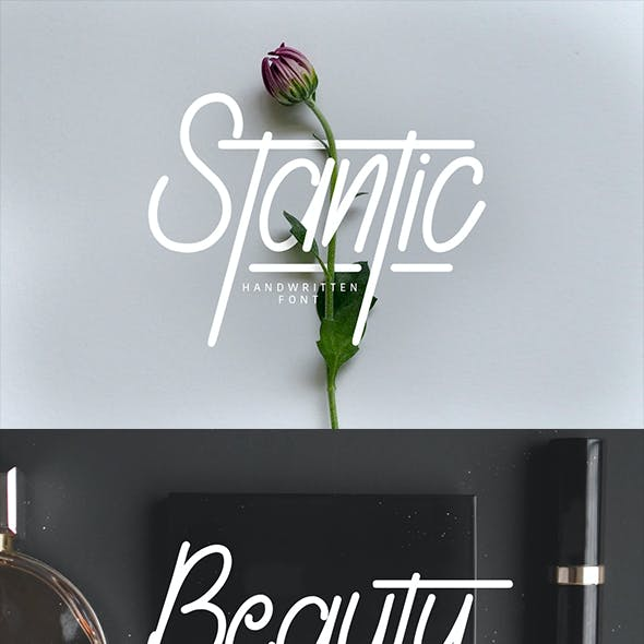 Stantic Typeface
