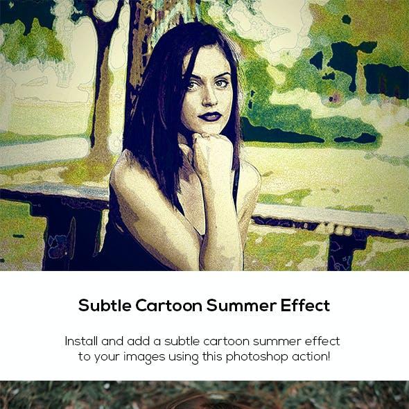 Subtle Cartoon Summer Effect