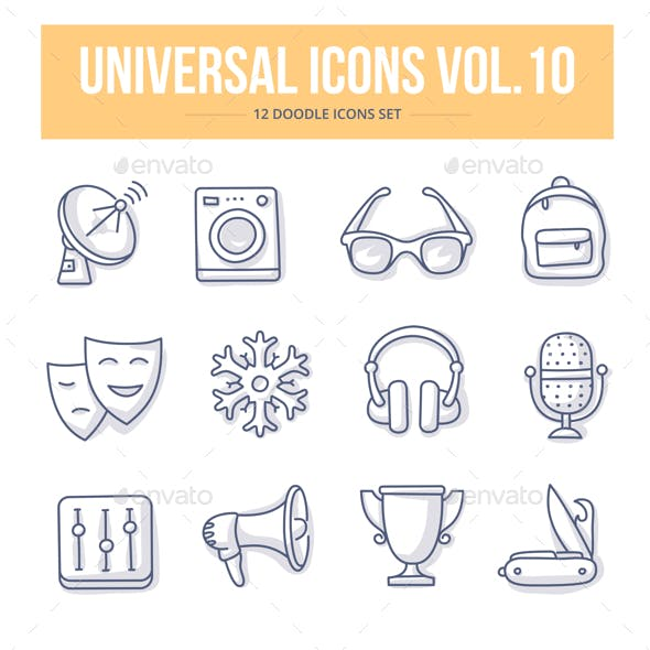 Universal Doodle Icons vol.10