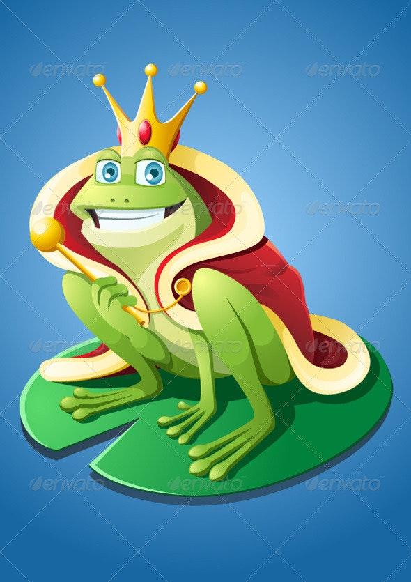 Frog Prince - Animals Characters