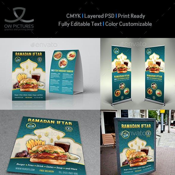 Ramadan Restaurant Advertising Bundle