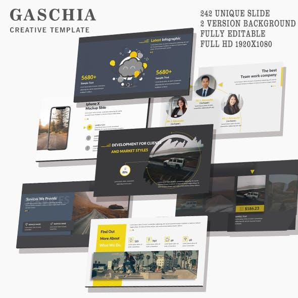 Gaschia Creative Google Slide Template