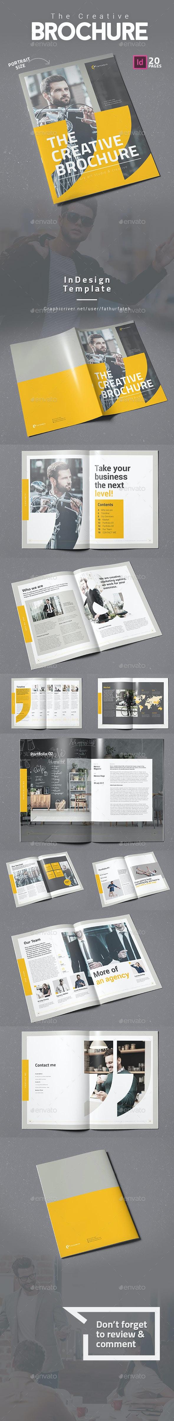 The Creative Brochure Vol.5 - Corporate Brochures