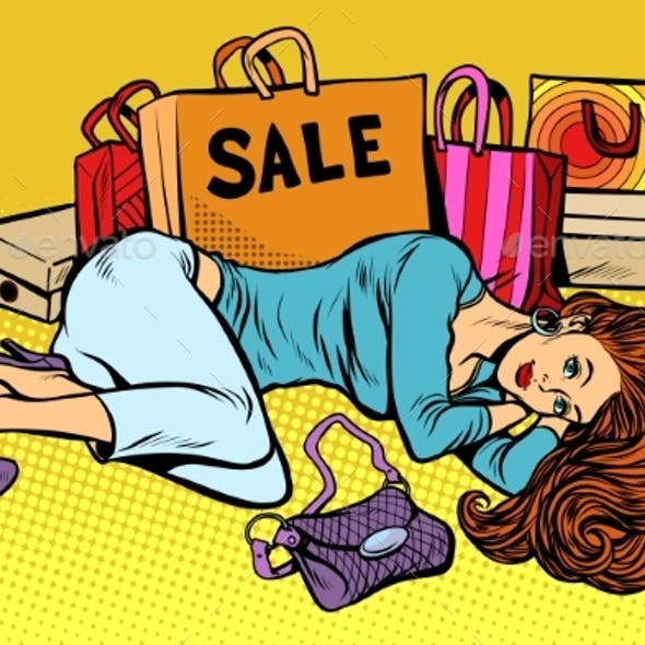 Woman After Sale