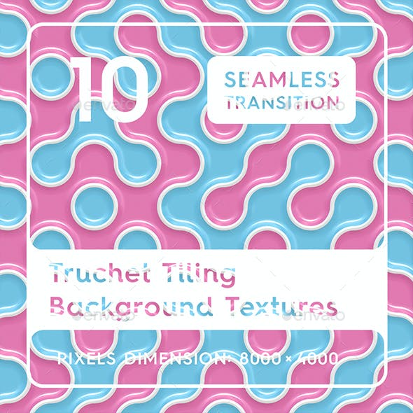 10 Truchet Tilling Background Textures