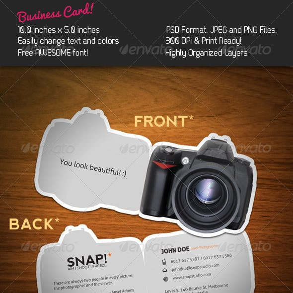 SNAP! Business Card