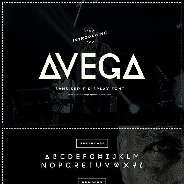 Avega Font   Sans Serif Display Font