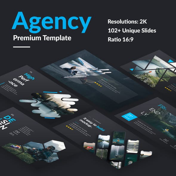 Agency Point Premium Design Keynote Template