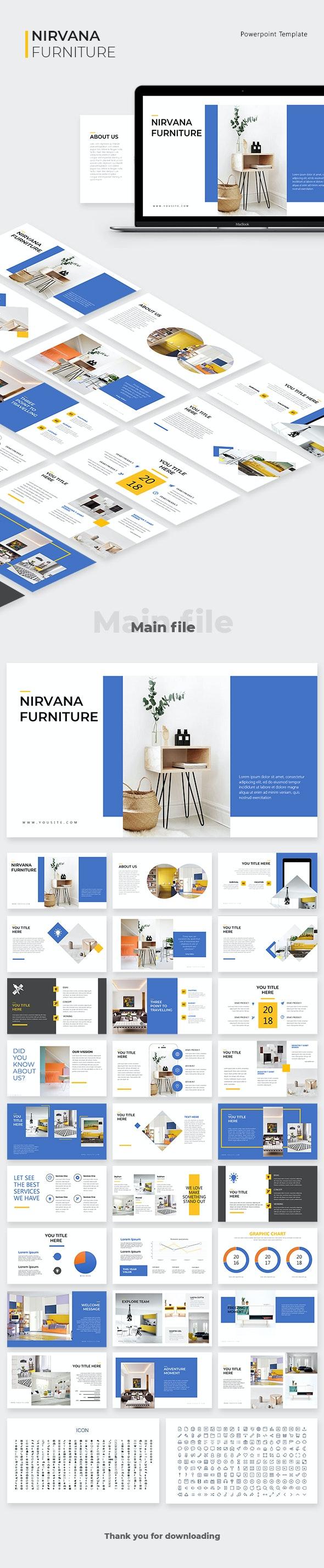 Nirvana Powerpoint Template - Business PowerPoint Templates