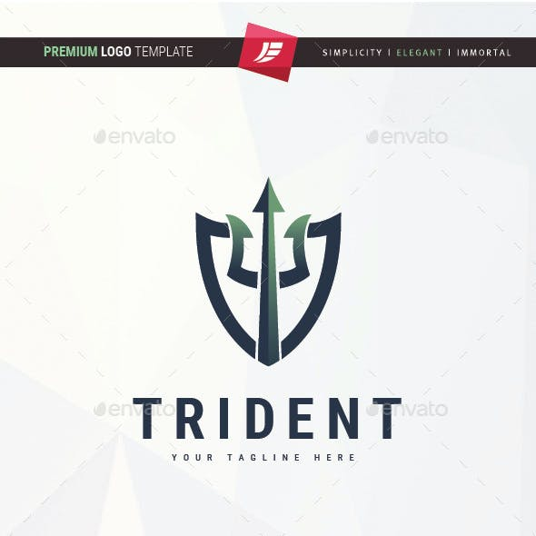 Trident Shield Logo