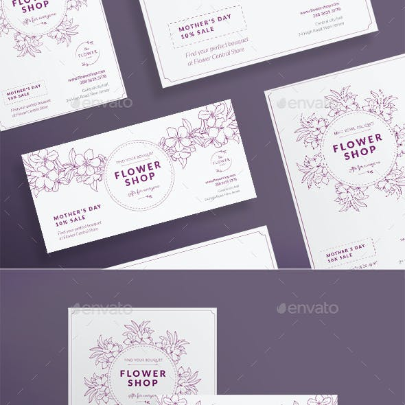 Flower Shop Flyers