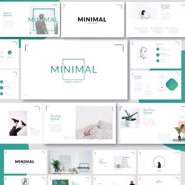 Minimal Minimalist Keynote Template