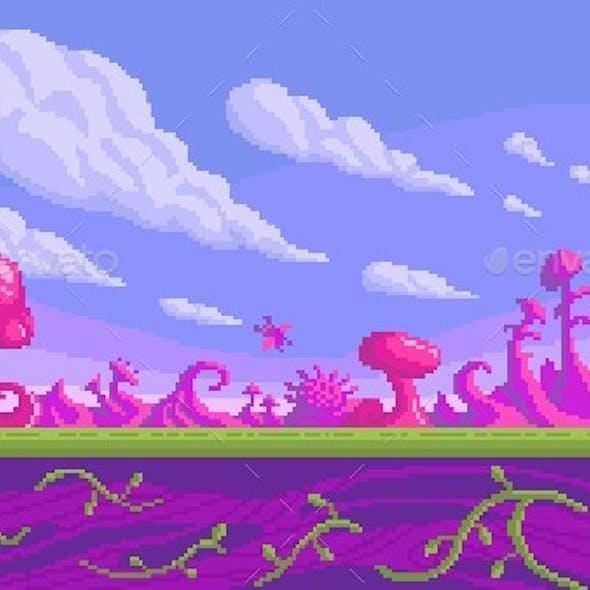 Pixel Art Game Location