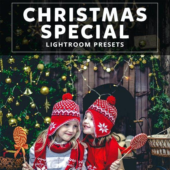 22 Christmas Special Lightroom Presets