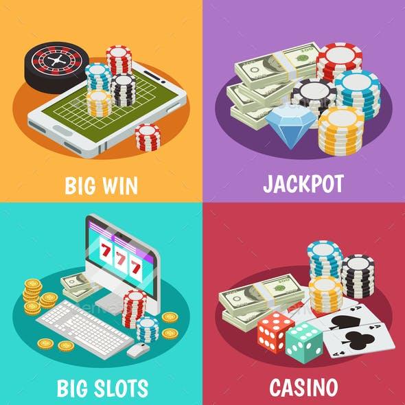 Casino 2x2 design concept
