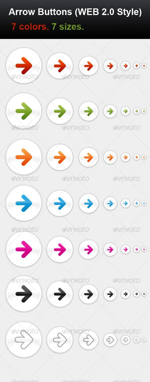 Arrow Buttons - Buttons Web Elements