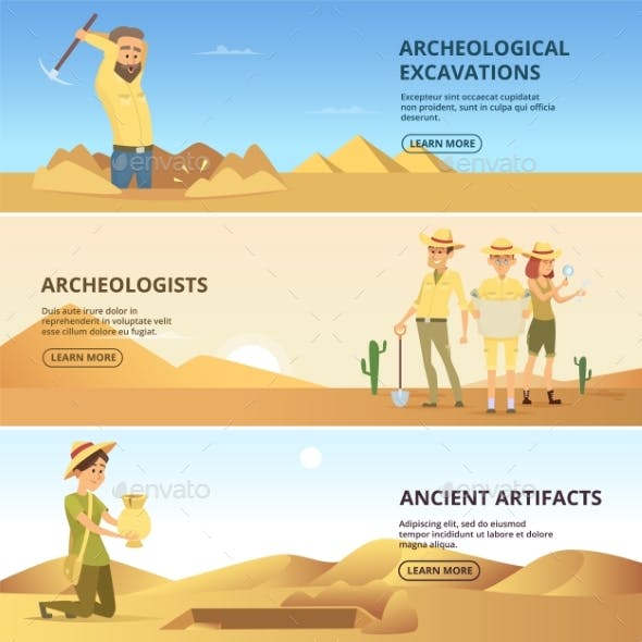 Archaeologists Conduct Excavations of Historical Values