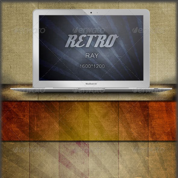 40 Retro Sun Ray Grunge Backgrounds