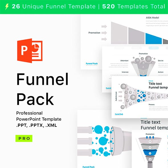 Funnel Pack for PowerPoint