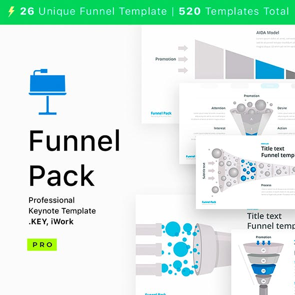 Funnel Pack for Keynote