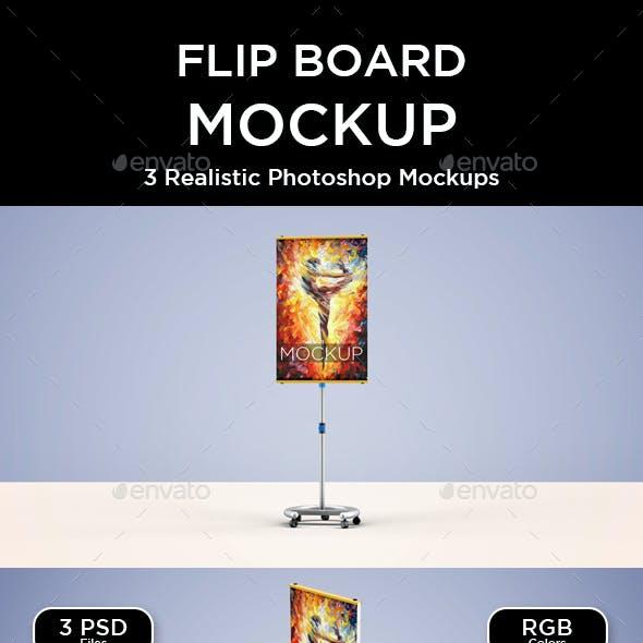 Flip Board Mockup - V2