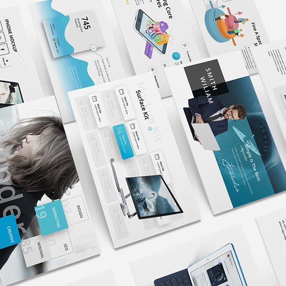 SEO Kit Profesional Google Slide Template