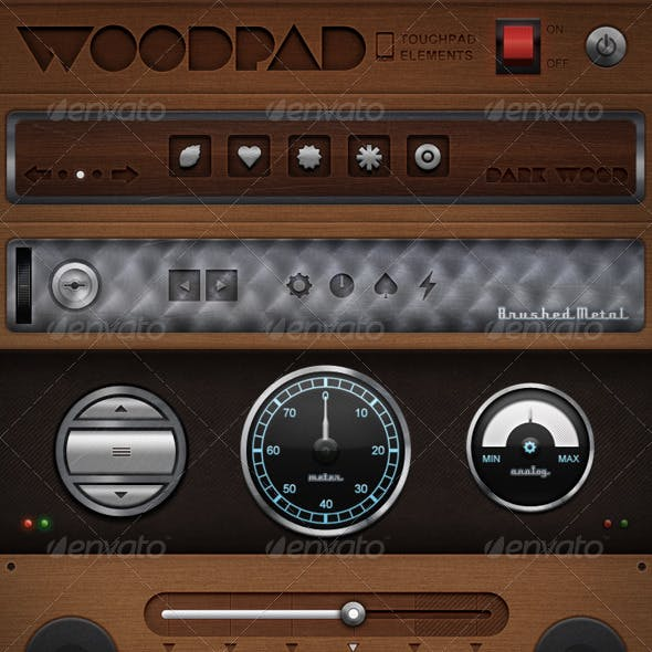 Woodpad - Touch User Interinterface