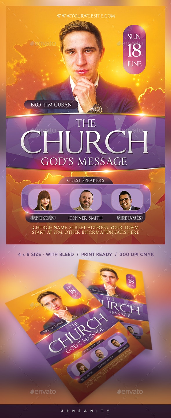 Church Flyer - Events Flyers