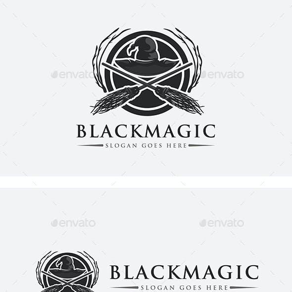 Black Magic Witches Logo