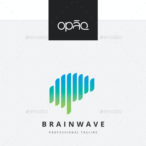 Brain Wave Logo