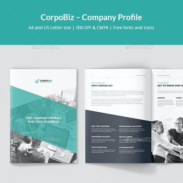 CorpoBiz – Business and Corporate Company Profile