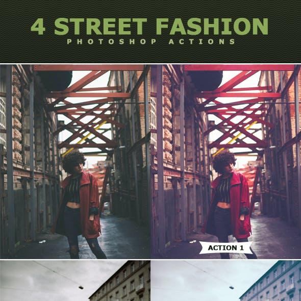 Street Fashion Photoshop Actions