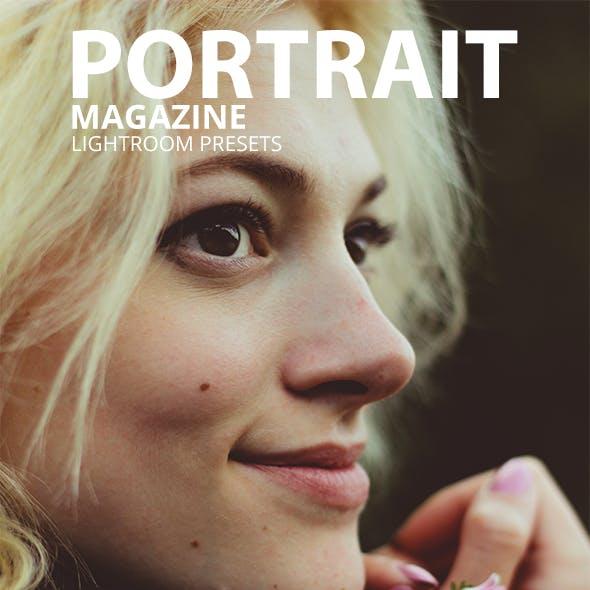 20 Portrait Magazine Lightroom Presets