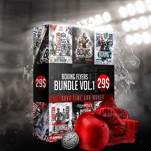 Boxing Flyers Bundle Vol.1