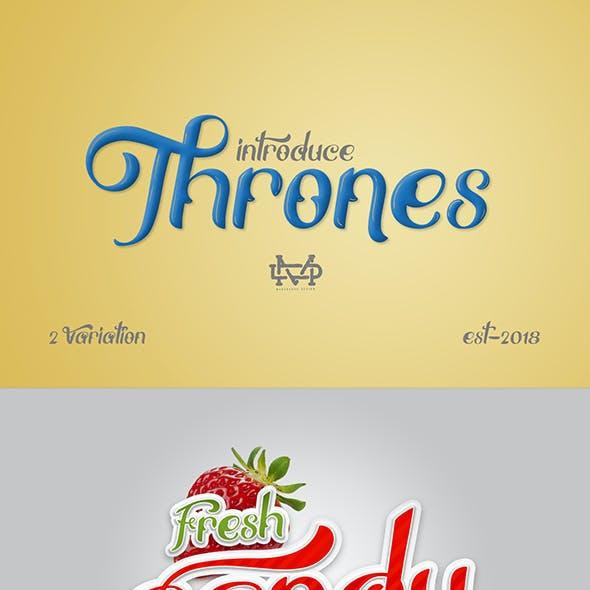 Thrones - Classic Typeface