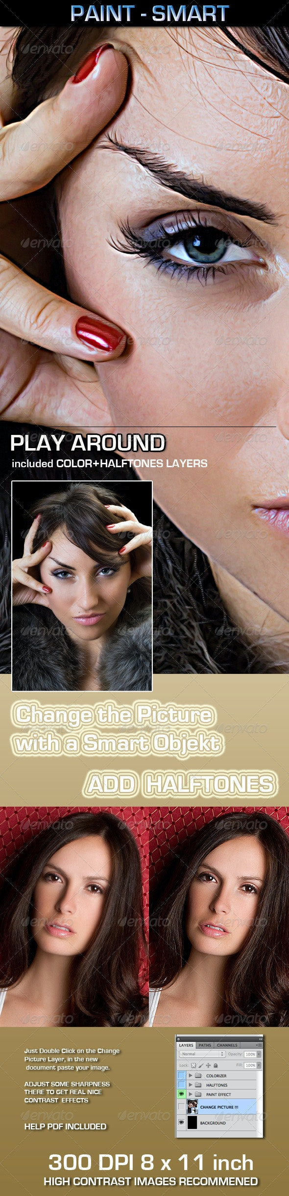 Paint Smart - Photo Templates Graphics