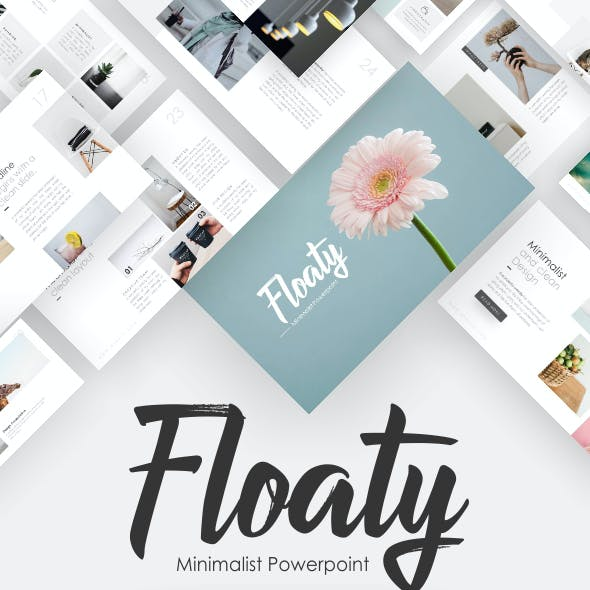 Floaty- Minimalist Presentation Template