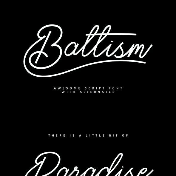 Baltism Typeface